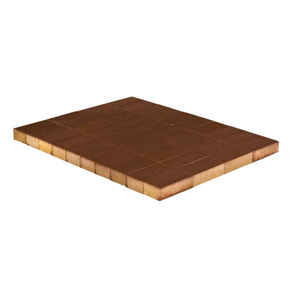 Тротуарная плитка Прямоугольник, Коричневый, 40