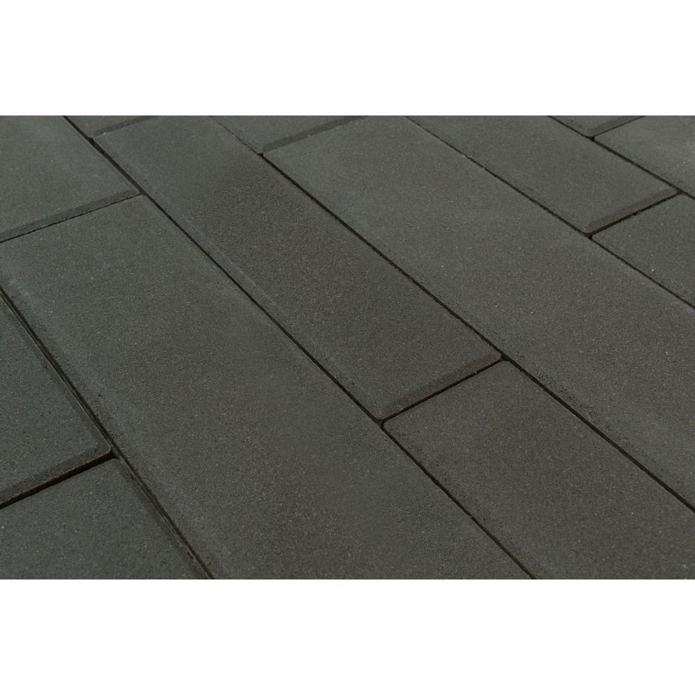 Тротуарная плитка Домино, Серый