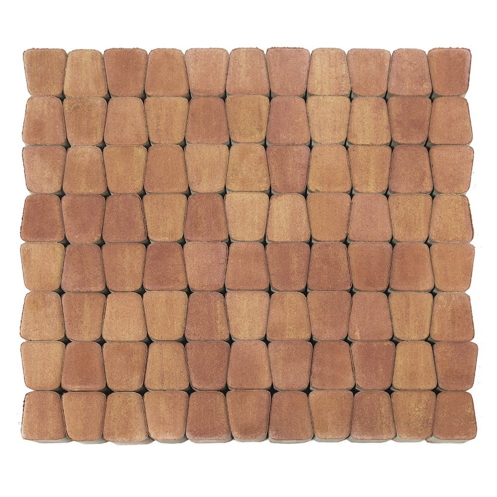 Тротуарная плитка Классико круговая, Рассвет, 60