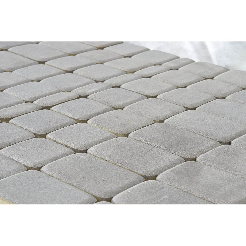 Тротуарная плитка Классико, Серый, 60