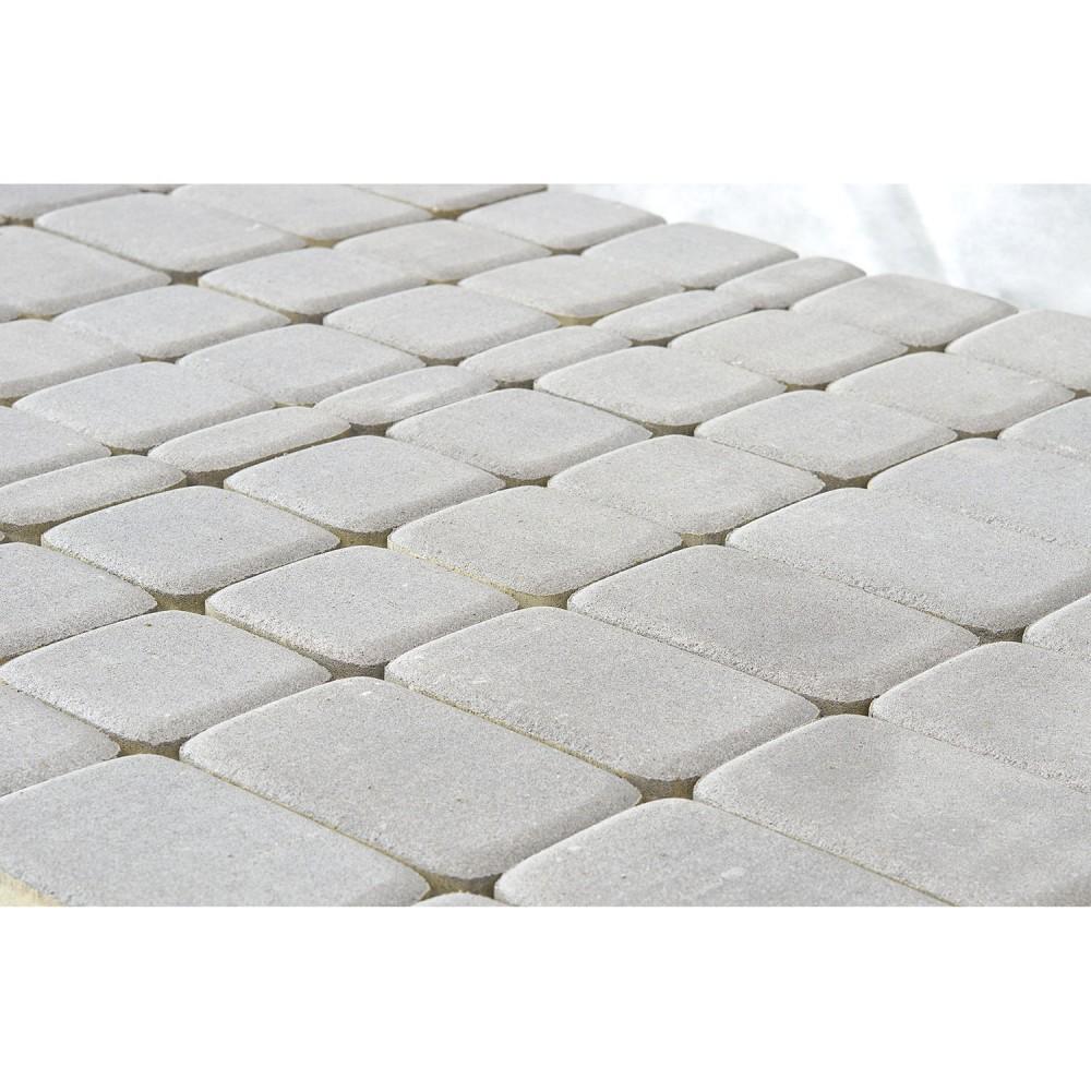 Тротуарная плитка Классико, Серебристый, 60