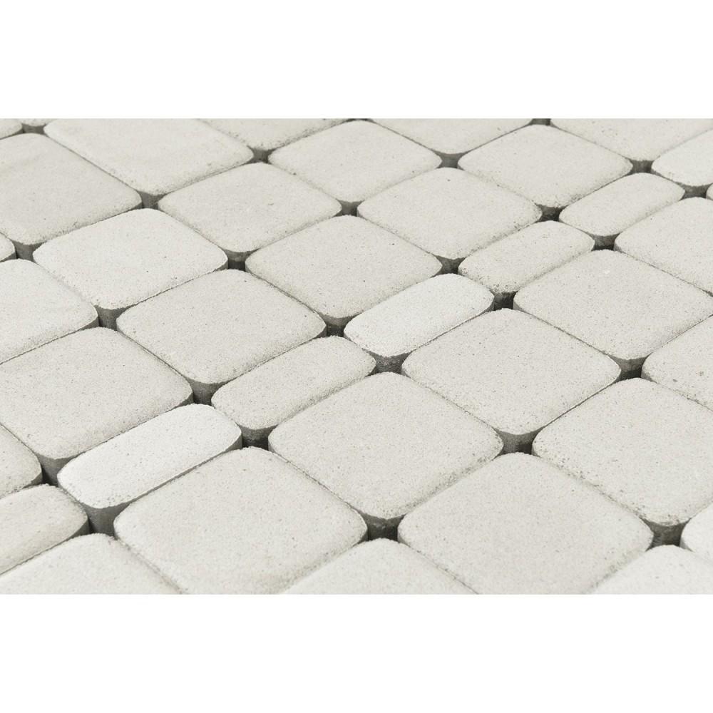 Тротуарная плитка Классико, Белый, 60