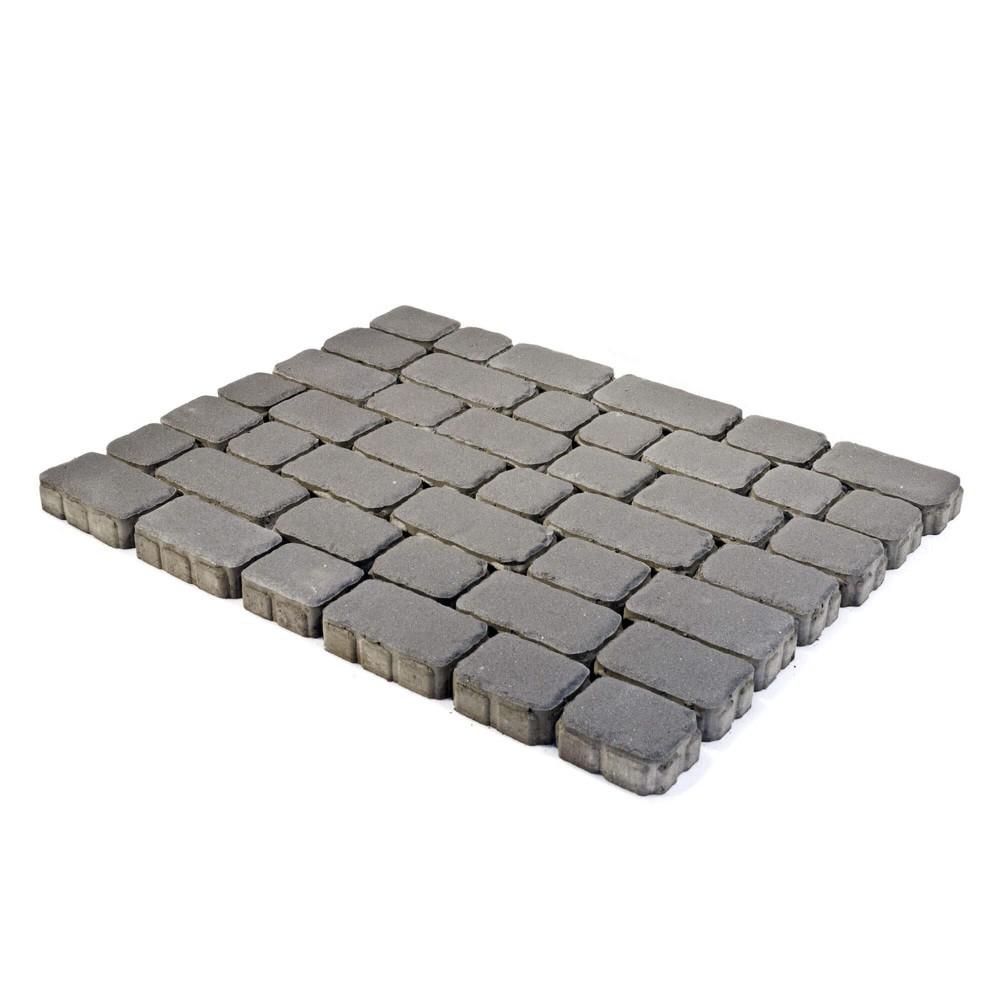 Тротуарная плитка Ривьера, Серый