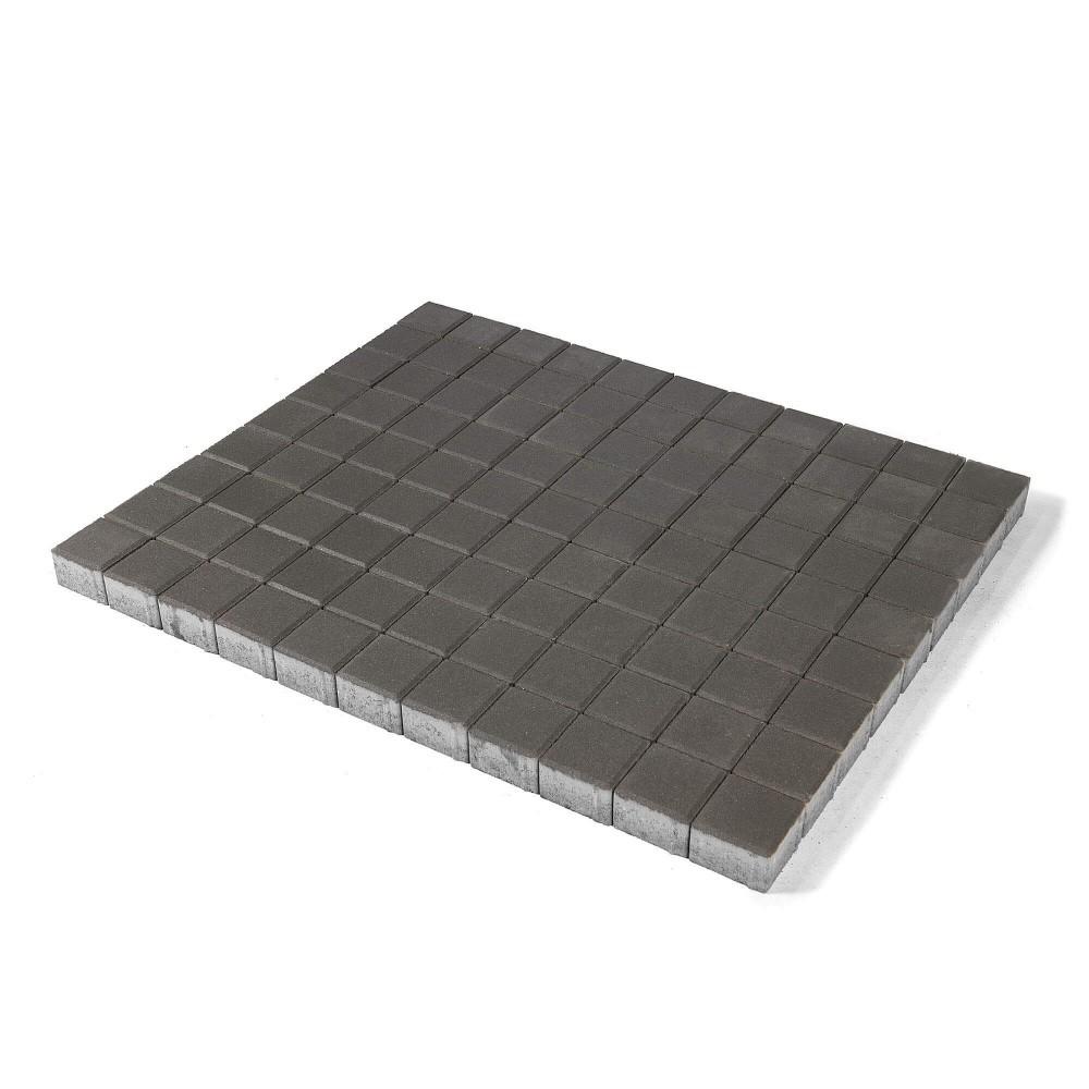Тротуарная плитка Лувр, Серый