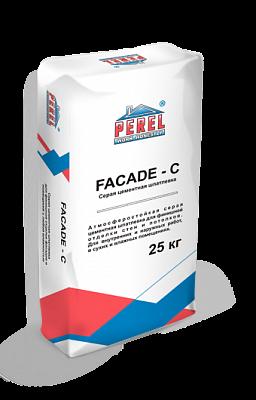 Цементная шпалевка Perel Facade-c 0650