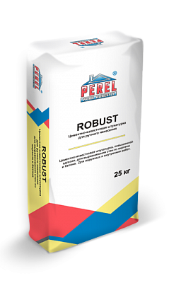 Цементно-известковая штукатурка Perel Robust 0515