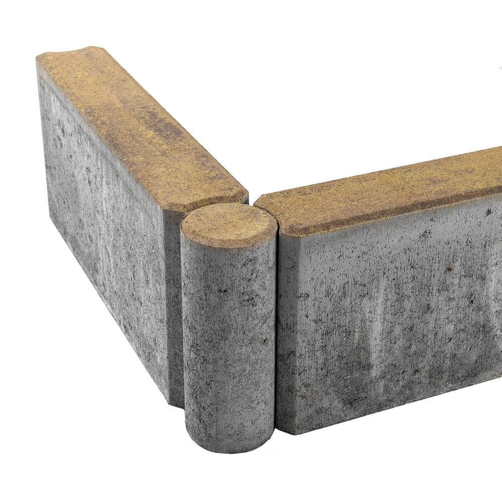 Бордюр тротуарный шарнирный БРШ 500*200*78 COLOR MIX «Прайд»