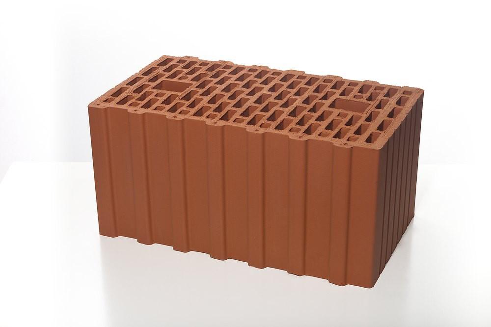 Керамический блок крупноформатный поризованный 44, 12.4НФ, М100/125, BRAER