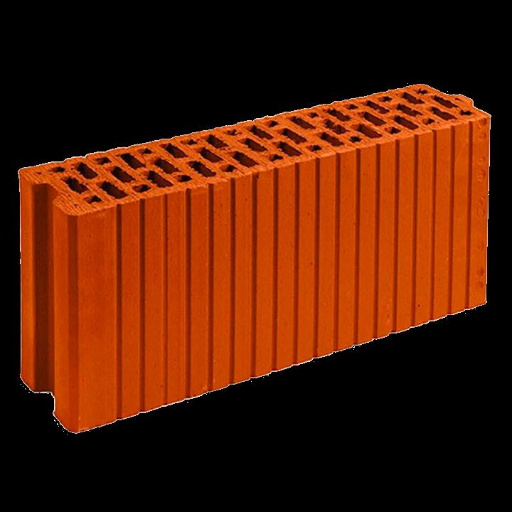 Керамический блок крупноформатный поризованный Poromax-120, 6.7НФ, Славянский кирпич