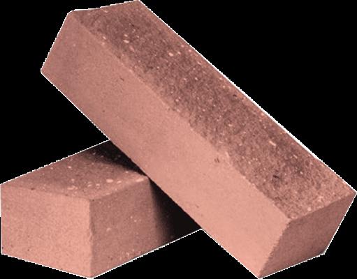 Утолщённый лицевой полнотелый колотый гидрофобизированный силикатный кирпич СУЛПОКГ-M150/F50/1,8