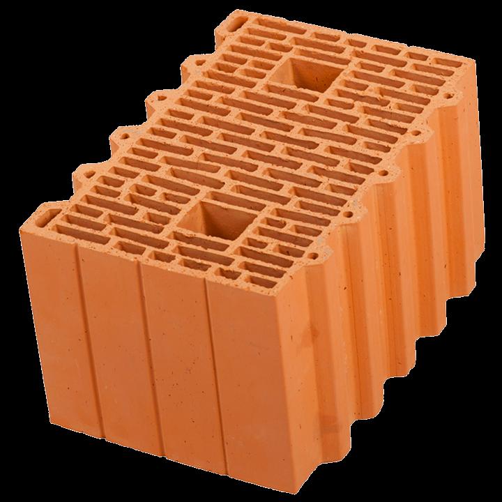 Керамический блок крупноформатный POROTHERM 38 поризованный М100