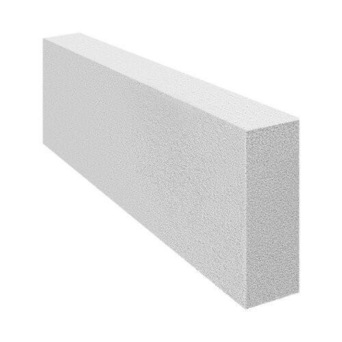 Блок газобетонный перегородочный плотность - D600 625х250х100мм