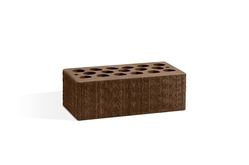 Кирпич керамический пустотелый - Шоколад бархат 1.4 НФ