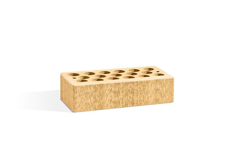 Кирпич керамический пустотелый - Солома бархат 1 НФ