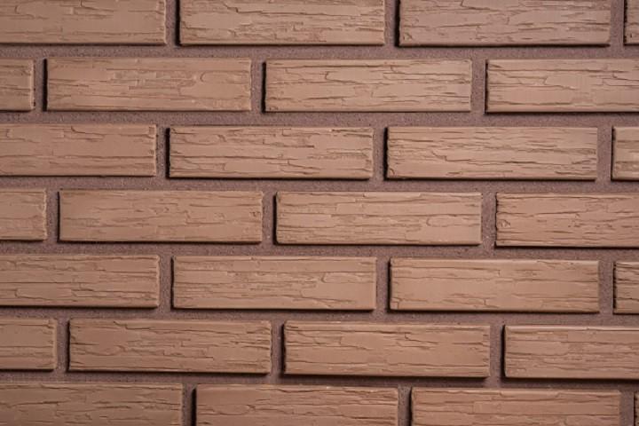 Кирпич керамический пустотелый - Шоколад Дикий Камень 1 НФ