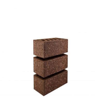 Кирпич лицевой Brown Granite, 1НФ, Керма