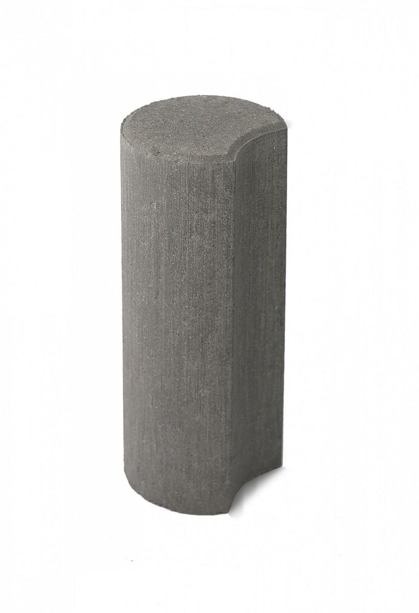 Бетонные столбики «Палисад» Серый
